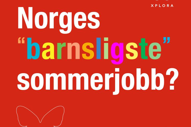Norges barnsligste sommerjobb ☀️
